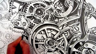 How to Draw Realistic Detail: Inside a Watch