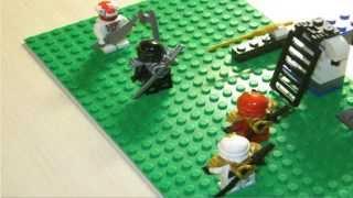 Самодельный мультик. Лего Нинзяго. Серия 2 Нападение змей. Часть 1