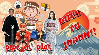 Pepe en Pilar go to Japan Part 1