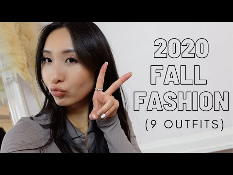 Fall/Autumn 2020 Lookbook/Outfit Inspo (Back To School / Back To Work Outfits!)
