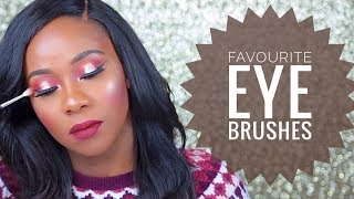 FAVOURITE EYE BRUSHES I TOPSYCOLE