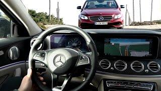Mercedes Classe E : elle fait tout pour vous éviter l'accident