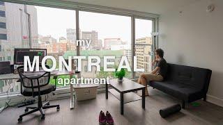 My Montreal apartment tour!