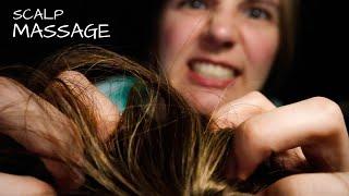 ASMR Fast & Aggressive  Scalp Massage