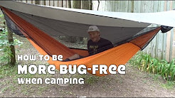 How to be More Bug Free When Camping