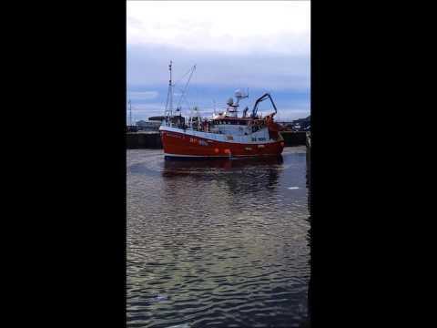 Leaving Fraserburgh Fishmarket Nov 2011