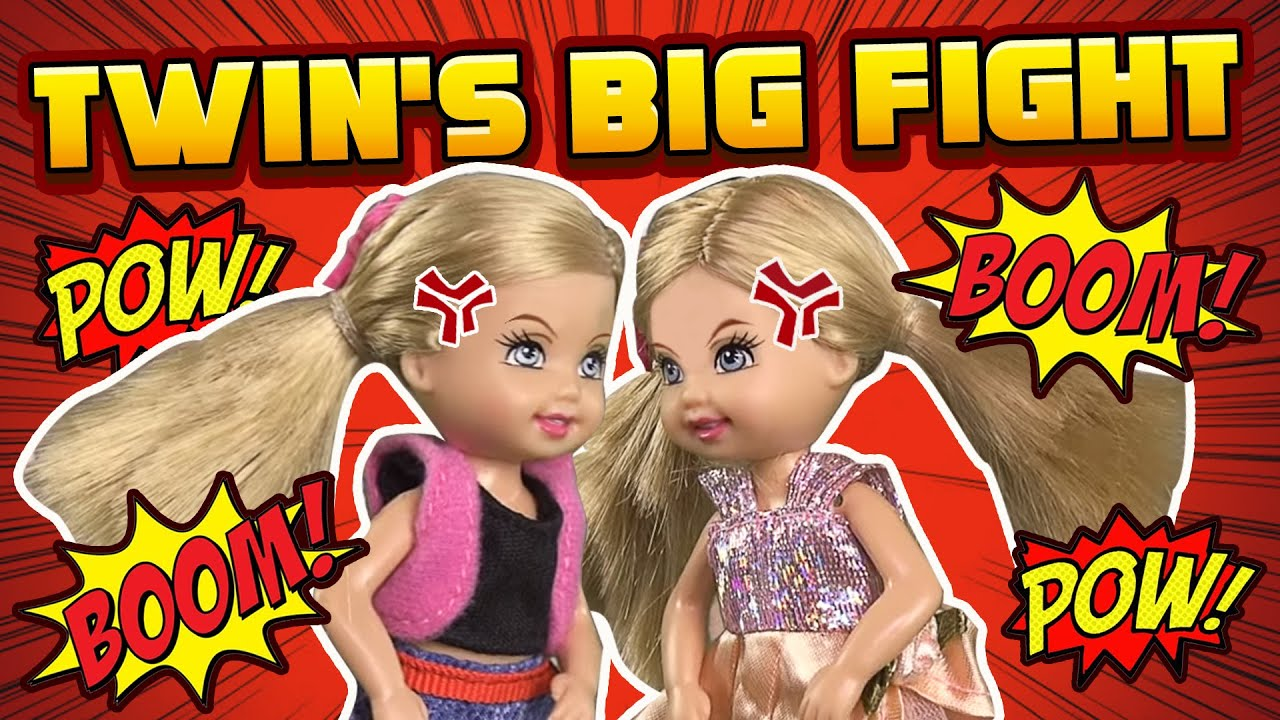 Barbie - The Twins' Big Fight   Ep.64