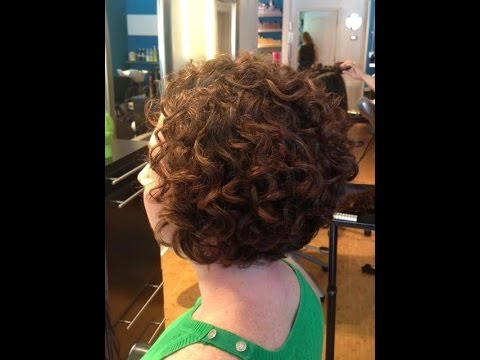 Hair Makeover Long To Bob Haircut On Curly Hair