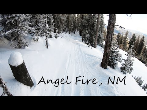 Skiing Through The Trees | Angel Fire, New Mexico