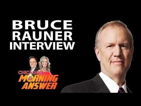 Interview with Gov. Bruce Rauner - August 18, 2015