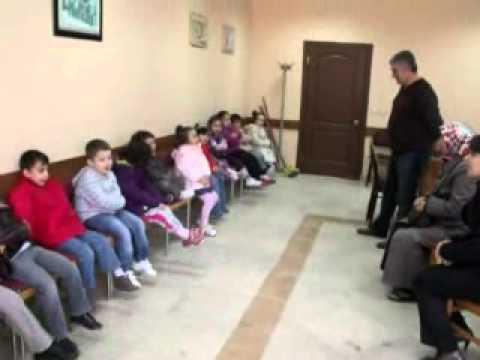 hendek okul öncesi öğrencileri kızılay şarkısı