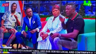 Angry Kwaku Manu & Bill Asamoah Bl@sts Lilwin Seriously In His face On  Live TV,