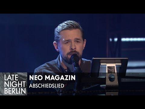 Für Jan Böhmermann: Abschiedslied an Neo Magazin Royale | Late Night Berlin | ProSieben