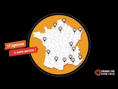 Francofa Eurodis - Nos agences