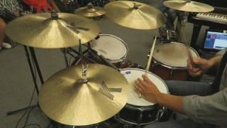 David Aliaga - Drum Solo (Improvisation)
