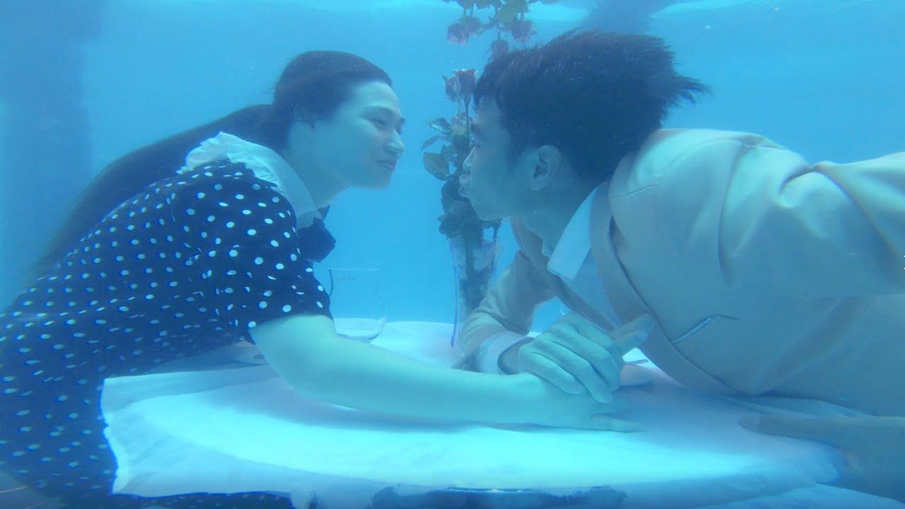 Hẹn Hò Dưới Nước | Under Water Date | PHD Troll