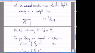 General Relativity, Lecture 19: Tests of GR. Gravitational Lensing & Redshift.