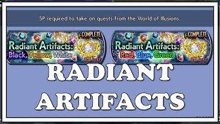 Radiant Artifacts Guide & Tips - Dissidia Final Fantasy Opera Omnia