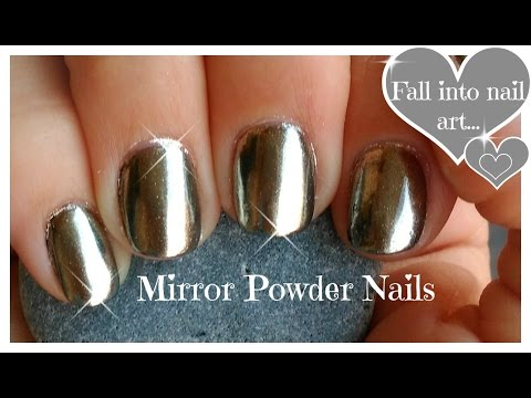 ♥ DIY,  Chrome Powder Mirror Nails On A Budget ♥