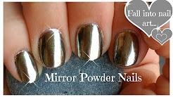 Diy Chrome Powder Mirror Nails On A Budget Powdered Sugar Collection From Wildflowers This Is One Of Many Techniques That Can Be Done