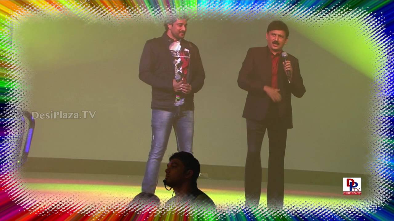 Actors Prem and  Ramesh Aravind at 9th Akka World Kannad Conference.