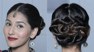 Wraparound Double Rope Braided Bun Hairstyle - New Years Eve Hairstyles for Women - Glamrs