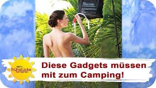 Die BESTEN Camping-Gadgets iṁ Test! | SAT.1 Frühstücksfernsehen