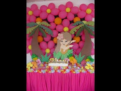 Decoraci n de globos para fiestas infantiles youtube - Globos para fiestas ...