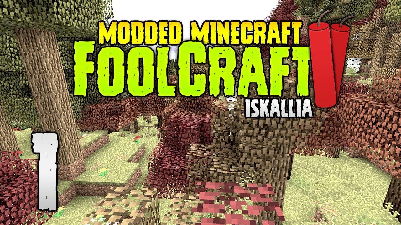 FoolCraft 2 12 | Episode 1 | My temple! | Modded Minecraft 2 12