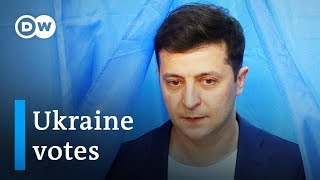 Ukraine election 2019: The role of the war in Donbass | DW News
