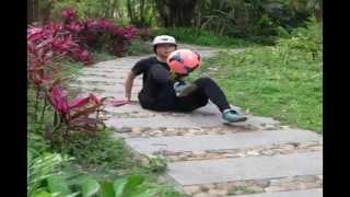 China girl freestyle football  - Dawnorus