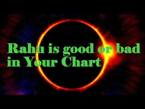 How to Judge Rahu in Birth Chart | राहु अच्छा या