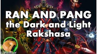 SUMMONERS WAR : Ran and Pang Light and Dark Rakshasa gameplay (long)