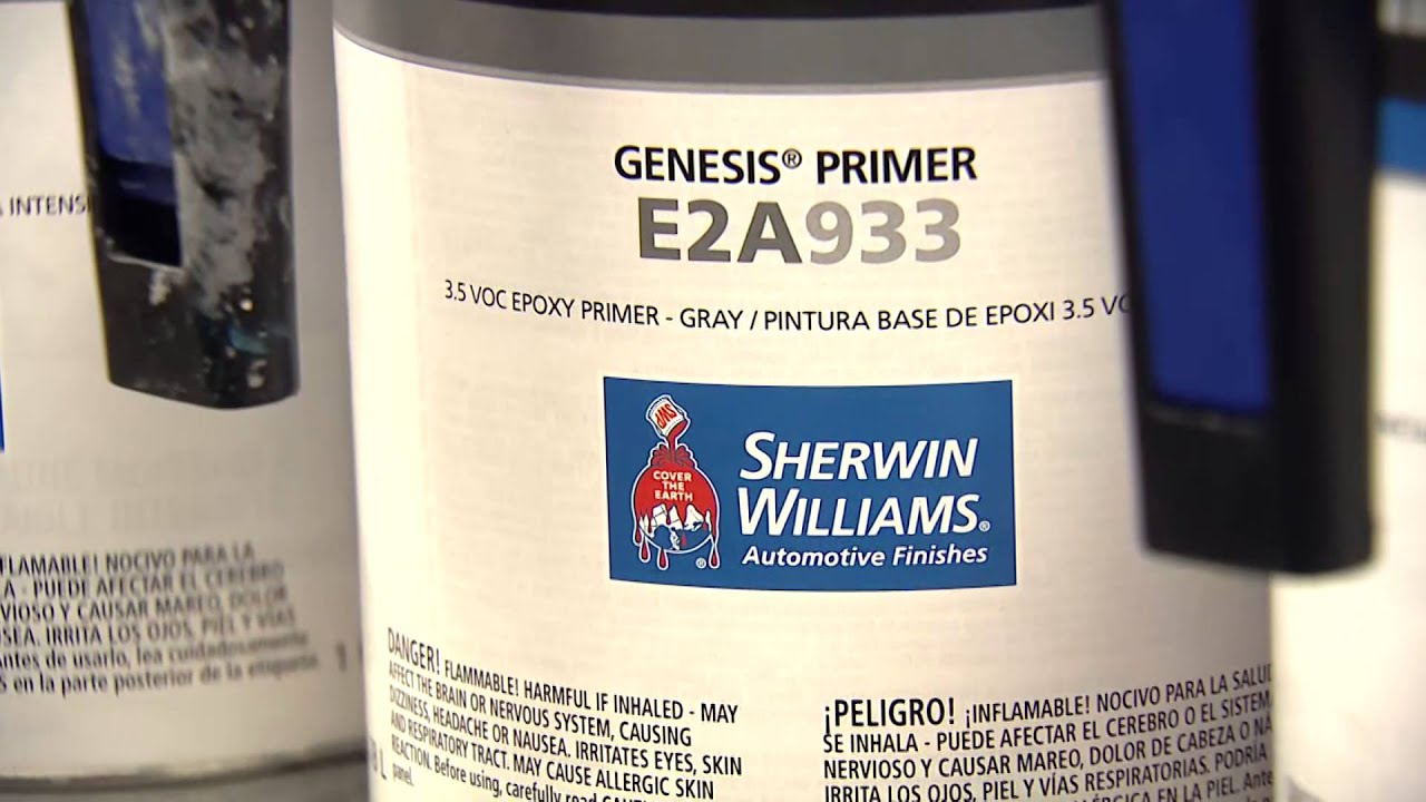 Sherwin Williams Automotive Finishes Genesis Primers