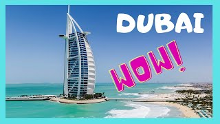 The magnificent Burj Al Arab (the Tower of the Arabs), Dubai