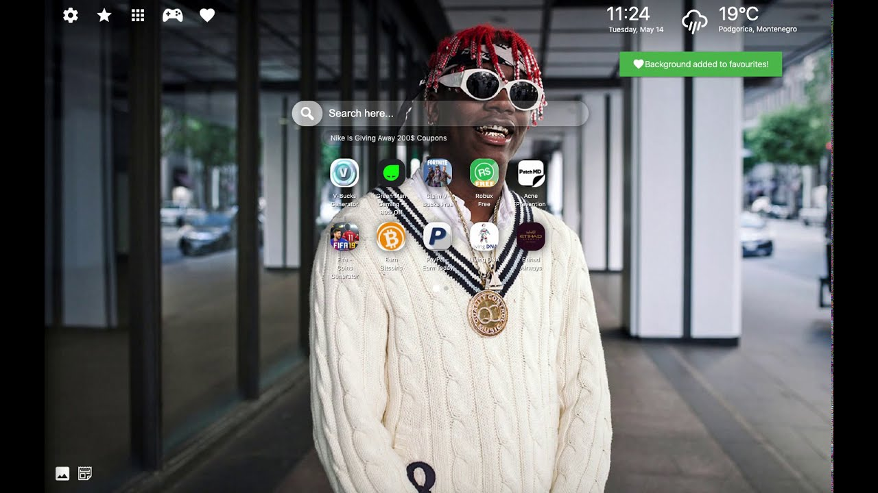 Wallpaper & Lil Yachty Songs Theme