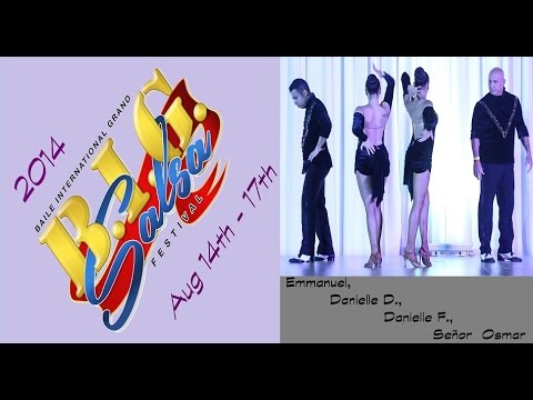 Yamuleé Dance Co. performing at the BIG Salsa Festival 2014 (Fri)