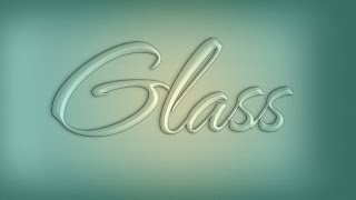 Phurious Photoshop Ep.1: Glass Text Effect