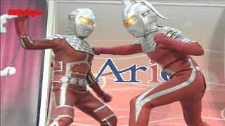 【ウルトラマン】アリオ鳳②イーヴィルヒーローvs歴代ウルトラヒーローショー★ニセウルトラマン★ニセウルトラセブン★エースロボット★ベリアル Evil Ultraman, Ultra Heroes thumbnail