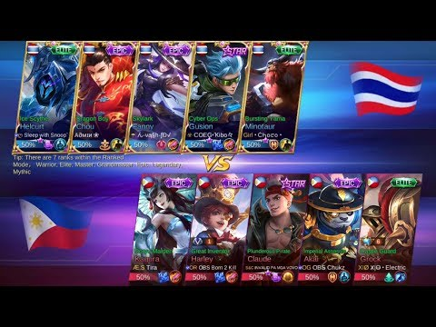 Philippines vs Thailand National Arena Game 3 Mobile Legends