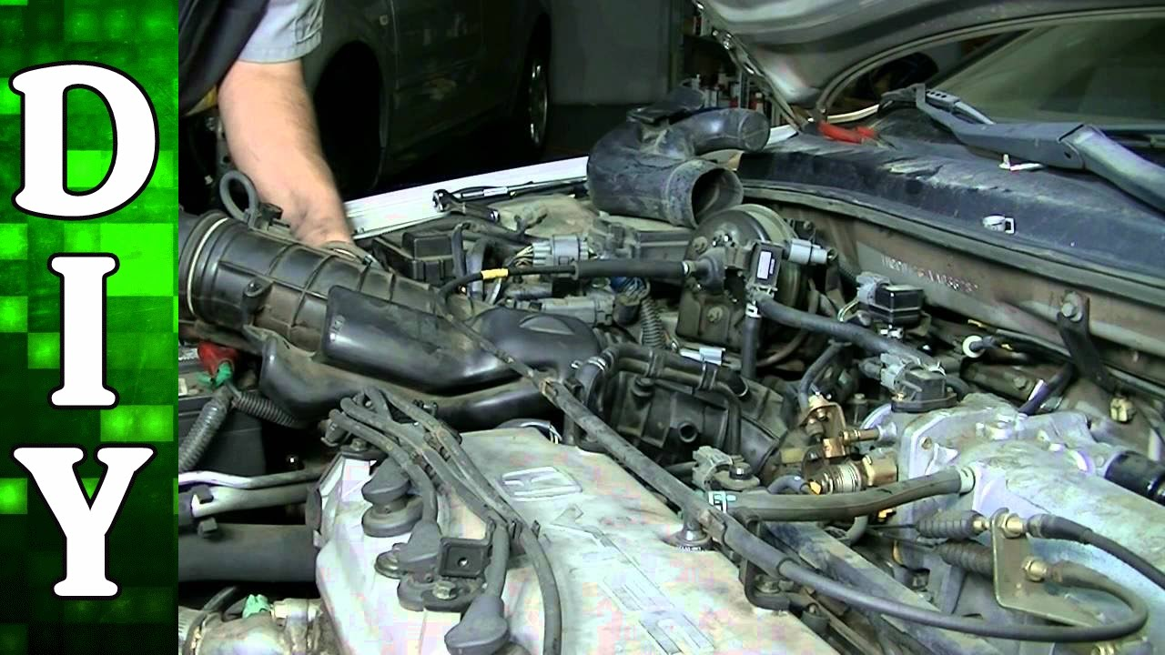 How to Replace a Thermostat on any 4 Cylinder Honda Engine  YouTube