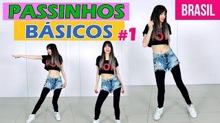 PASSOS BÁSICOS PARA INICIANTES #1 | Aprenda a dançar | Passos de dança | Taty Macieski