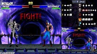 Ultimate Mortal Kombat 3 - HUMAN SMOKE - (Nintendo DS) 【TAS】