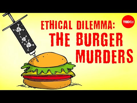 Video image: Ethical dilemma: The burger murders - George Siedel and Christine Ladwig