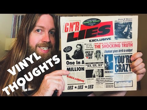 Vinyl Thoughts: Guns N' Roses – Lies