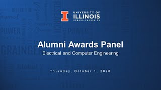 Colloquium: 2020 Illinois ECE Alumni Awards Panel
