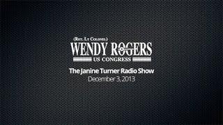 The Janine Tuner Radio Show