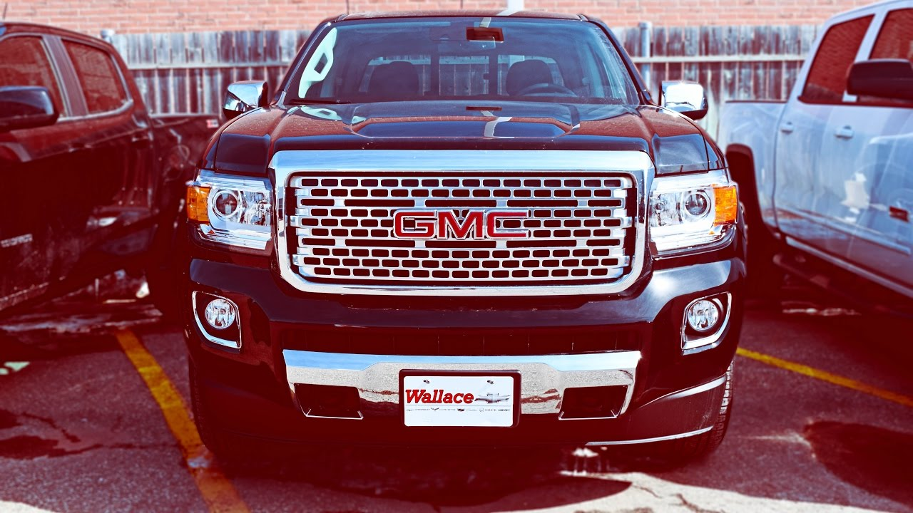 2017 Gmc Canyon Denali All You Wanted To Know Youtube