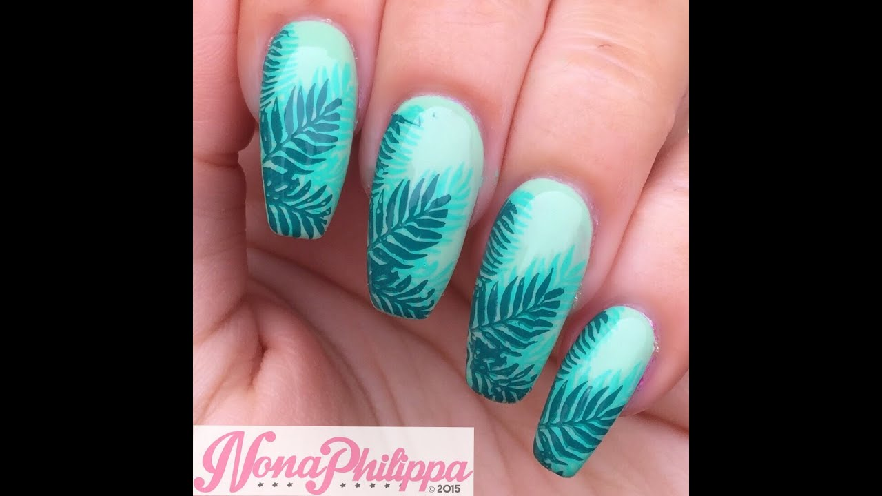 Nail Art Ideas stamp nail art : How To Double Stamp-Jungle Book Nail Art Tutorial - YouTube
