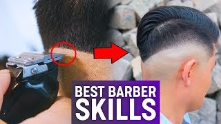 Best Barber Skills 2018 | Men's Hairstyle Inspiration